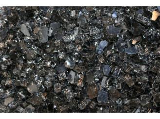 Dekorační sklo - černé